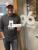 CincyGive Home t-shirt selfie - 96 Rock