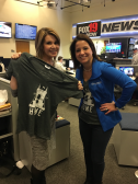 CincyGive Home t-shirt selfie - Fox 19