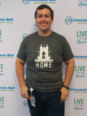 CincyGive Home t-shirt selfie