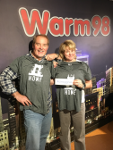 CincyGive Home t-shirt selfie - Warm 98