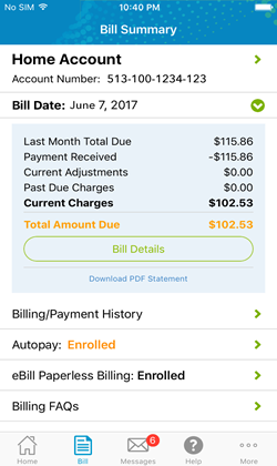 Bill Summary